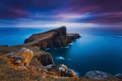 scotland neist point the inner hebrides archipelago isle of skye on