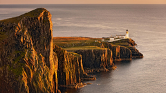 Neist Point Lighthouse Isle of Skye Inner Hebrid by Lloyd