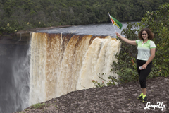 Impressions Staring Down Infinity at Guyana s Kaieteur Falls