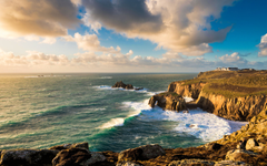 Land s End Cornwall England widescreen wallpapers