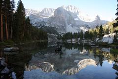 Wallpapers Lake Reflection Sequoia National Park Kings Canyon