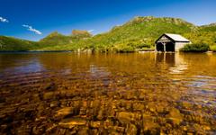 the Shallow Boathouse Lake Wallpaper Shallow Boathouse