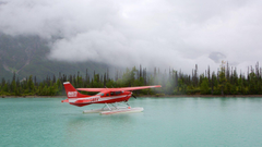 Peaceful Pictures View Image of Lake Clark National Park and