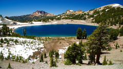 Peaceful Pictures View Image of Lassen Volcanic National Park