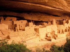 Anasazi Ruins Mesa Verde National Park Colorado