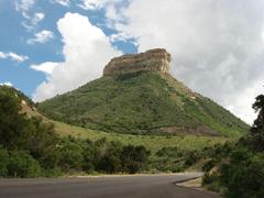 File Butte Near Mesa Verde National Park Entrance