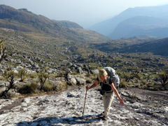 Climbing Sapitwa Peak Mulanje the highest peak in Malawi Mark