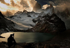 Mount Fitz Roy at Lago de Los Tres Southern Argentina Android
