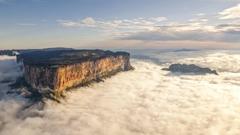 landscape Mount Roraima Mist Wallpapers HD Desktop and Mobile