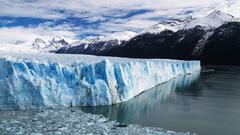 Gaze at the Impelling Glaciers Perito Moreno of Patagonia