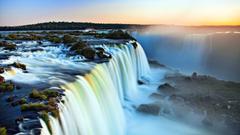 Niagara Falls At Morning HD Wallpapers For Desktop Backgrounds