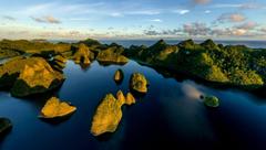 Tropical Beach Raja Ampat Indonesia Wallpapers Hd Desktop