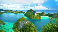 Raja Ampat West Papua Indonesia island sea ocean wallpapers