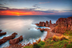 Rural Phillip Island off Australia s southern coast near Melbourne