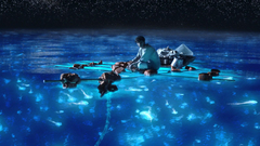 Maldives beach becomes sea of stars thanks to bioluminescent