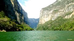 Sumidero Canyon in Mexico