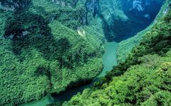 Sumidero Canyon Chiapas Mexico widescreen wallpapers