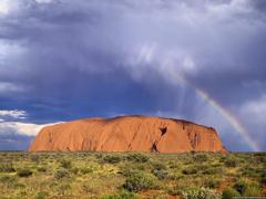 Desktop Wallpapers Natural Backgrounds Uluru Kata Tjuta National