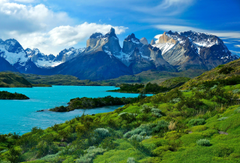 Wallpapers Torres del Paine National Park Soaring mountains HD