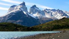 Landscape of Torres Del Paine National Park