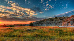 Sunset Sunrise Pictures View Image of Theodore Roosevelt