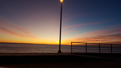 argentina tierra del fuego landscape morning sea sky wallpapers and