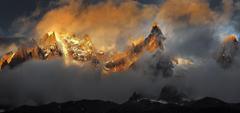 Argentina Tierra Del Fuego Landscape Morning Sea Sky Wallpapers
