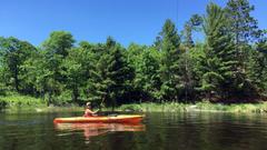 Voyageurs National Park Rainy Lake Tales from a Van