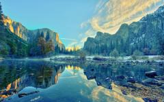 Calming Yosemite National Park wallpapers