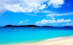 Honeymoon Beach Virgin islands National Park