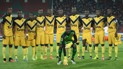 When is the Caf Champions League clash between Asec Mimosas and Lobi