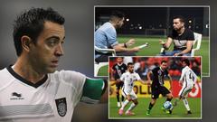 Footballing legend Xavi Arab footballers are great and promising