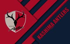 wallpapers Kashima Antlers FC 4k material design