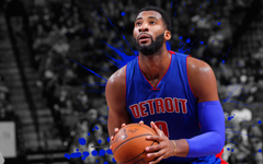 wallpapers Andre Drummond 4k basketball players NBA