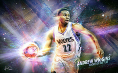 Andrew Wiggins Wallpapers by skythlee