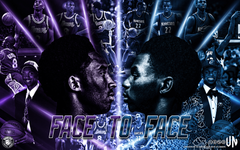 Kobe Bryant Andrew Wiggins Face to Face wallpapers by vndesign on