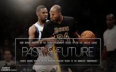 Kobe Bryant and Andrew Wiggins