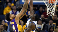 Lakers rookie Brandon Ingram acquits himself well in first NBA