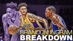 Lakers Brandon Ingram Breakdown Full Rookie Offensive Breakdown