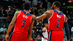 John Wall and Bradley Beal trying to overcome their mutual