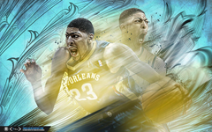Anthony Davis Past and Present Wallpapers by tmaclabi