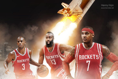 Houston Rockets wallpapers with Melo