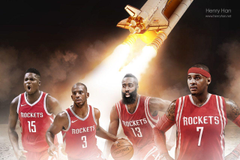 Capela added to this Rockets wallpaper