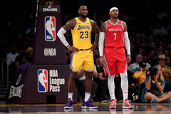 LeBron James says Lakers adding Carmelo Anthony in agency isn t