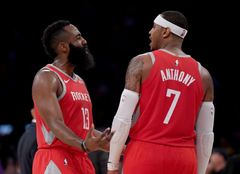 Houston Rockets Melo not the only problem removing him is the answer