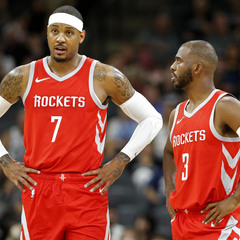 How James Harden Chris Paul Can Maximize Carmelo Anthony in