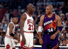 Charles Barkley and Michael Jordan Wallpapers