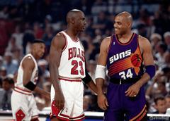 Charles Barkley and Michael Jordan Wallpapers