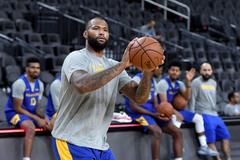 Warriors report DeMarcus Cousins could return in December