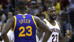 Draymond Green brushes off LeBron James incident Stuff happens